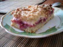 Kruche ciasto śliwkowo jabłkowe