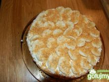 Kruche ciasto z bananami a'la tarta