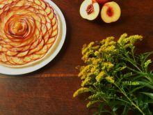 Kruche ciasto z nektarynkami