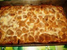 Kruche ciasto z owocami babci Marysi