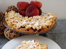 Kruche ciasto z owocami leśnymi