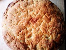 Kruche ciasto z rabarbarem i rodzynkami