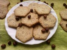 Kruche orzechowe ciasteczka