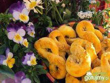 Kruche precelki z ziarnem słonecznika