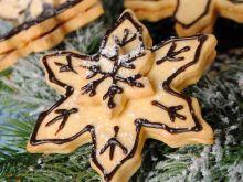Kruche, świąteczne gwiazdeczki