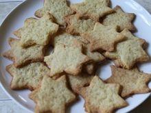 Kruche, waniliowe ciasteczka