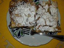 Ciasto kruche ze śliwką i mango