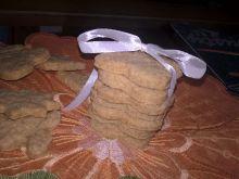 Kruche żytnie ciasteczka
