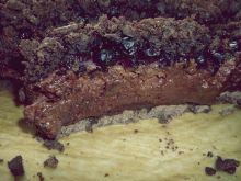 Kruchy czekoladowiec z jagodami