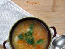 Krupnik, polska jesienna zupa