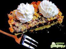 Kruszonkowe ciasto z powidłem