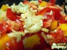 Krzyśka surówka z papryki z gorgonzolą