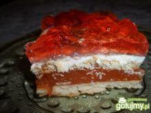 Kubusiowe ciasto na herbatnikach