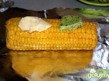 Kukurydza z masłem (czosnkowym)