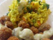 Kuleczki mięsne z (nie) zwykłym ryżem i sosem