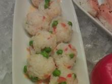 kuleczki ryżowo-krabowe