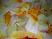 Kuleczki z marcepana z żurawiną