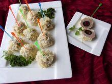Kuleczki z mięsa z oliwkami i papryką