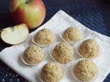 Kulki jabłkowo-chałwowe z amarantusem