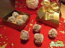 Kulki z płatków w wiórkach kokosowych