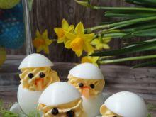 Kurczaczki - jajka faszerowane z curry