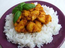 Kurczak curry na ostro