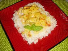 Kurczak curry z bambusem