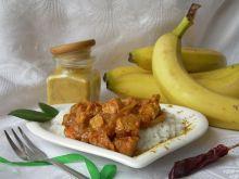 Kurczak curry z bananem
