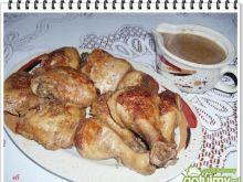 Kurczak Eli w piwnym sosie.