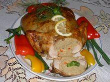 Kurczak faszerowany aromatyczny