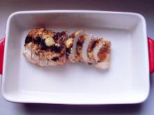 Kurczak faszerowany ciecierzycą