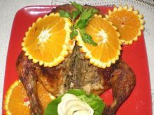 Kurczak faszerowany mięsem :