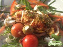 Kurczak grillowany na delikatnej sałatce