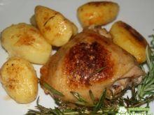Kurczak i ziemniaki z rozmarynem