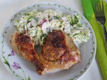 Kurczak miodowo-musztardowy