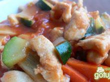 Kurczak na chińską nutę