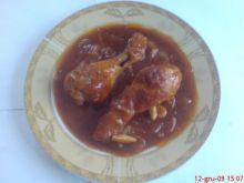kurczak na czerwono (krwawy kurczak)