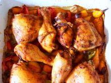 Kurczak na marchewce