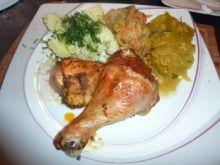 Kurczak na ostro marynowany