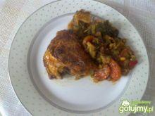 Kurczak na warzywach 4