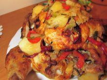 Kurczak na warzywach