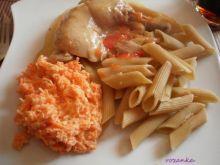 Kurczak paprykowo-marchewkowy