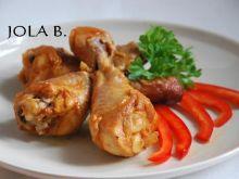 Kurczak paprykowo - miodowy