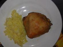 Kurczak pieczony chilli-imbir
