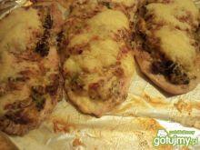 Kurczak pieczony pod brokułem