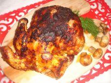 Kurczak pieczony w papryce z pieczarkami