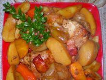 Kurczak pieczony z Garnka rzymskiego