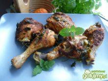 Kurczak pieczony z melisą