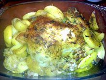 Kurczak pieczony z ziemniaczkami z rozmarynem