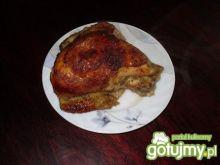 Kurczak pieczony, zamarynowany